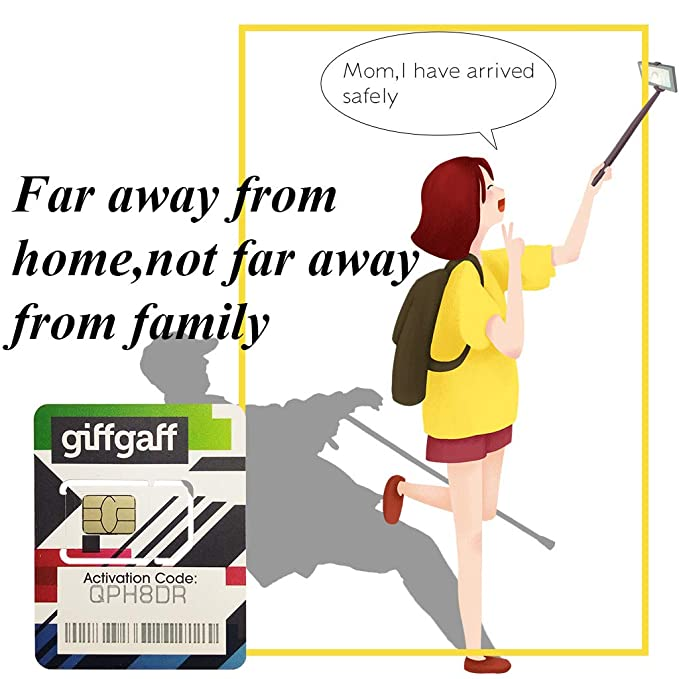 Amazon.com: Giffgaff UK - Tarjeta SIM prepagada: Cell Phones ...