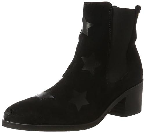 99c18baf629aa Tommy Hilfiger Damen Z1285OE 1B Chelsea Boots, Schwarz (Black), 36 EU