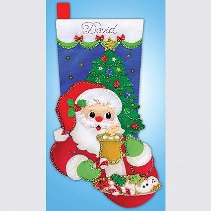 Design Works Cocoa Cookies Stocking Stocking Kit