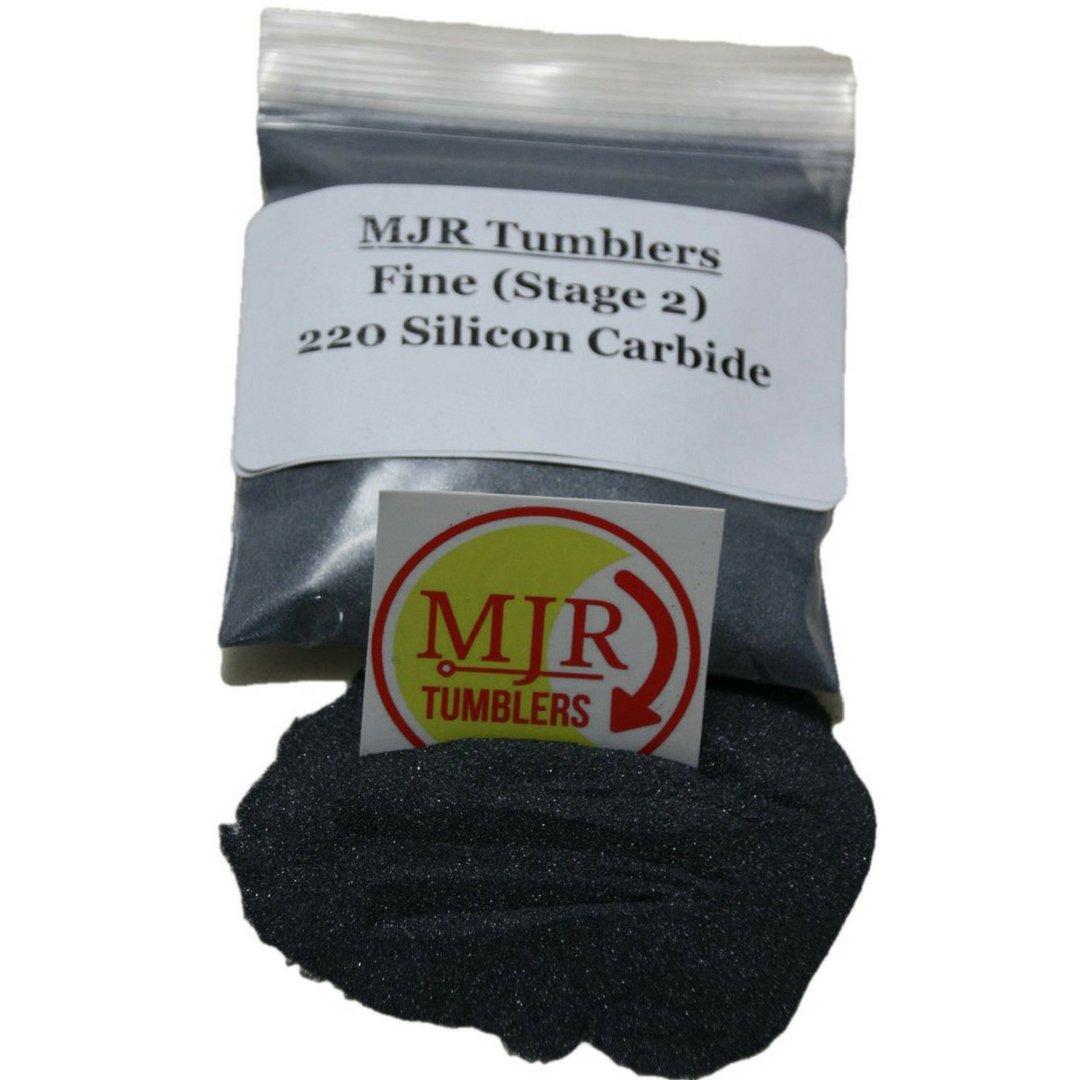 MJR Tumblers 5 lb Silicon Carbide 220 Rock Grit Polish