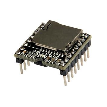 ARCELI TF Card U Disk Mini Reproductor de MP3 Módulo de Tarjeta de Sonido para Arduino DFPlay: Amazon.es: Electrónica
