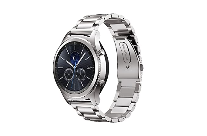 Amazon.com: KuGi Huawei Watch 2 Classic Band,Ultra-Thin ...