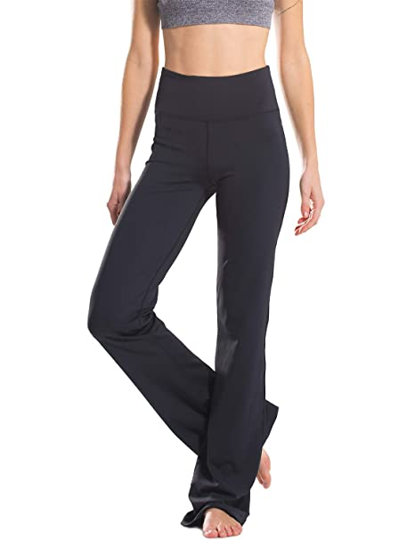 variousstyles classic style footwear Safort Bootcut Yoga Trousers Women 5'3