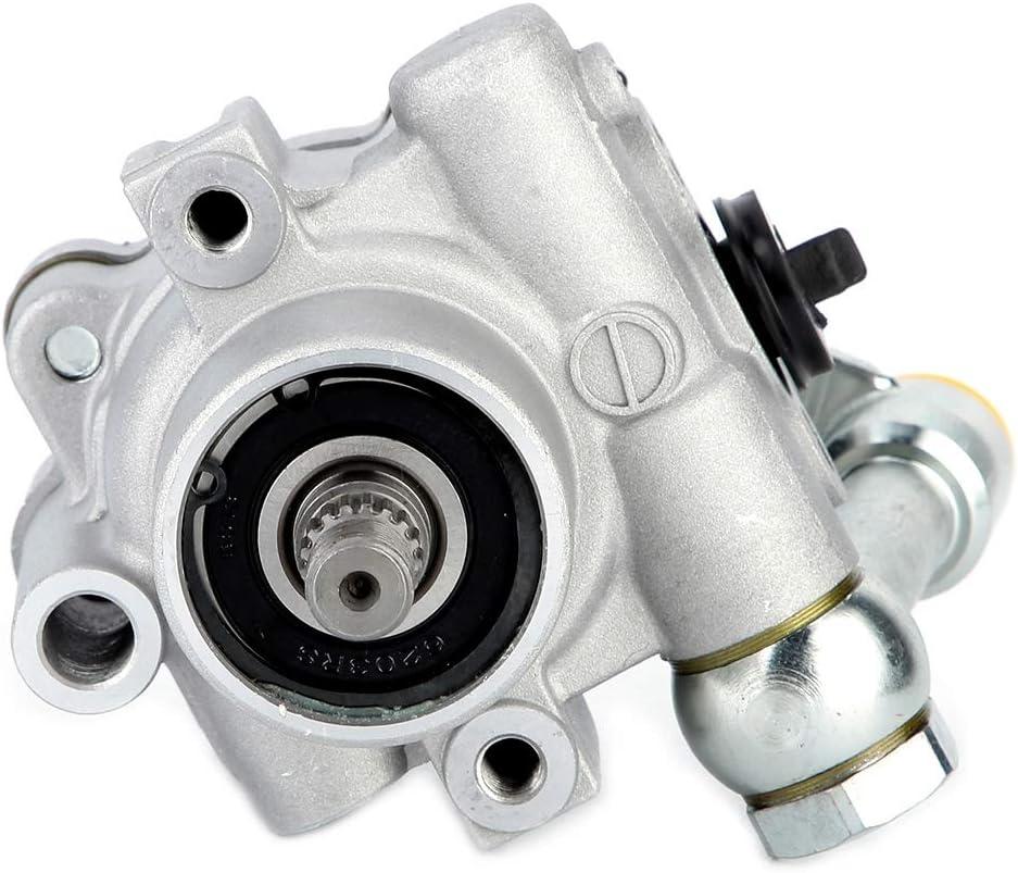 Qiilu Power Steering Pump 49110-7Y000 Power Steering Pump Fit for 2002 2003 2004 2005 2006 2007 2008 2009 Nissan Maxima Quest Altima
