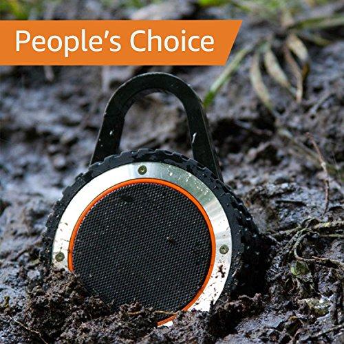 ALL-Terrain Sound Rugged Bluetooth Speaker, Rugged Outdoor Wireless Waterproof Bluetooth Speaker - Black