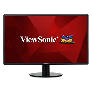 ViewSonic VA2719-2K-SMHD 27 Inch IPS 2K 1440p Frameless LED Monitor with HDMI and VGA Inputs for Home and Office