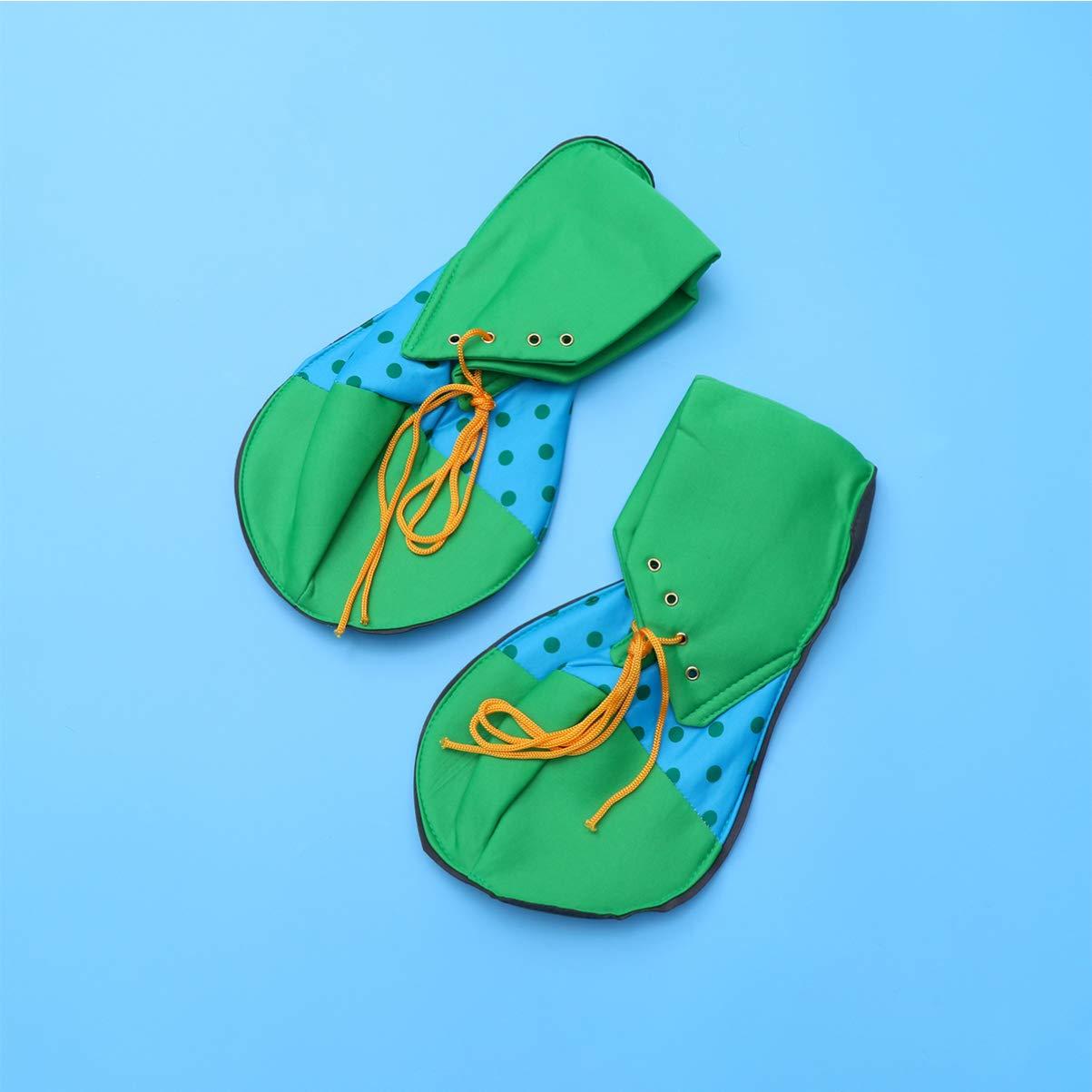 Amosfun zapatos de peluca de corbata de payaso ropa de payaso ...