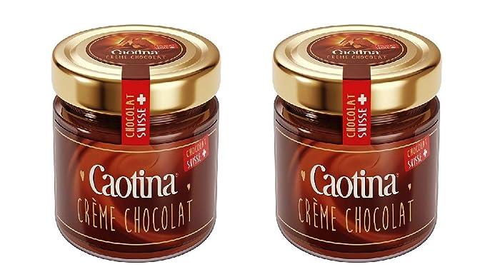 Pasta de chocolate Caotina Crème 2x300 g/crema de chocolate/crema de chocolate/