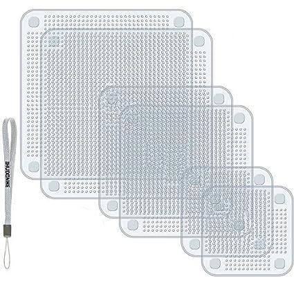 Silicone Stretch Lids , IHUIXINHE Set Di 6 Coperchi Di Risparmio Energetico  In Silicone   BPA