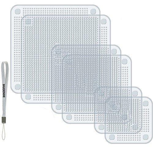 BPA frei Mikrowelle Backofen und Gefrierschrank Safe Sch/üssel Abdeckungen und Lebensmittel Stretch Deckel Sp/ülmaschine IHUIXINHE Set von 6 Silikon Lebensmittel Saver Warps