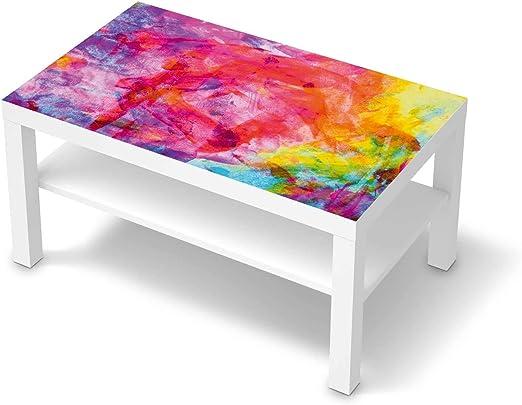 creatisto Möbel Tattoo passend für IKEA Lack Tisch 90x55 cm I Möbelsticker Möbel Sticker Aufkleber Folie I Innendekoration für Esszimmer, Wohnzimmer