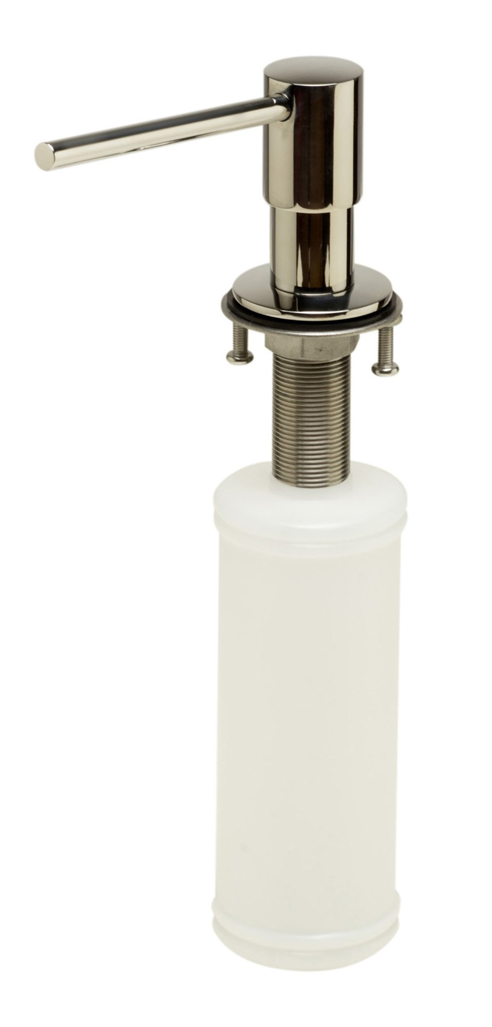 ALFI brand AB5006-PSS Modern Round Soap Dispenser, Polished Stainless Steel