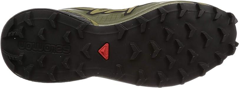 Salomon Speedcross 4 Wide, Zapatillas de Running para Asfalto para Hombre, Verde (Grape Leaf/Burnt Olive/Black Grape Leaf/Burnt Olive/Black), 40 EU: Amazon.es: Zapatos y complementos