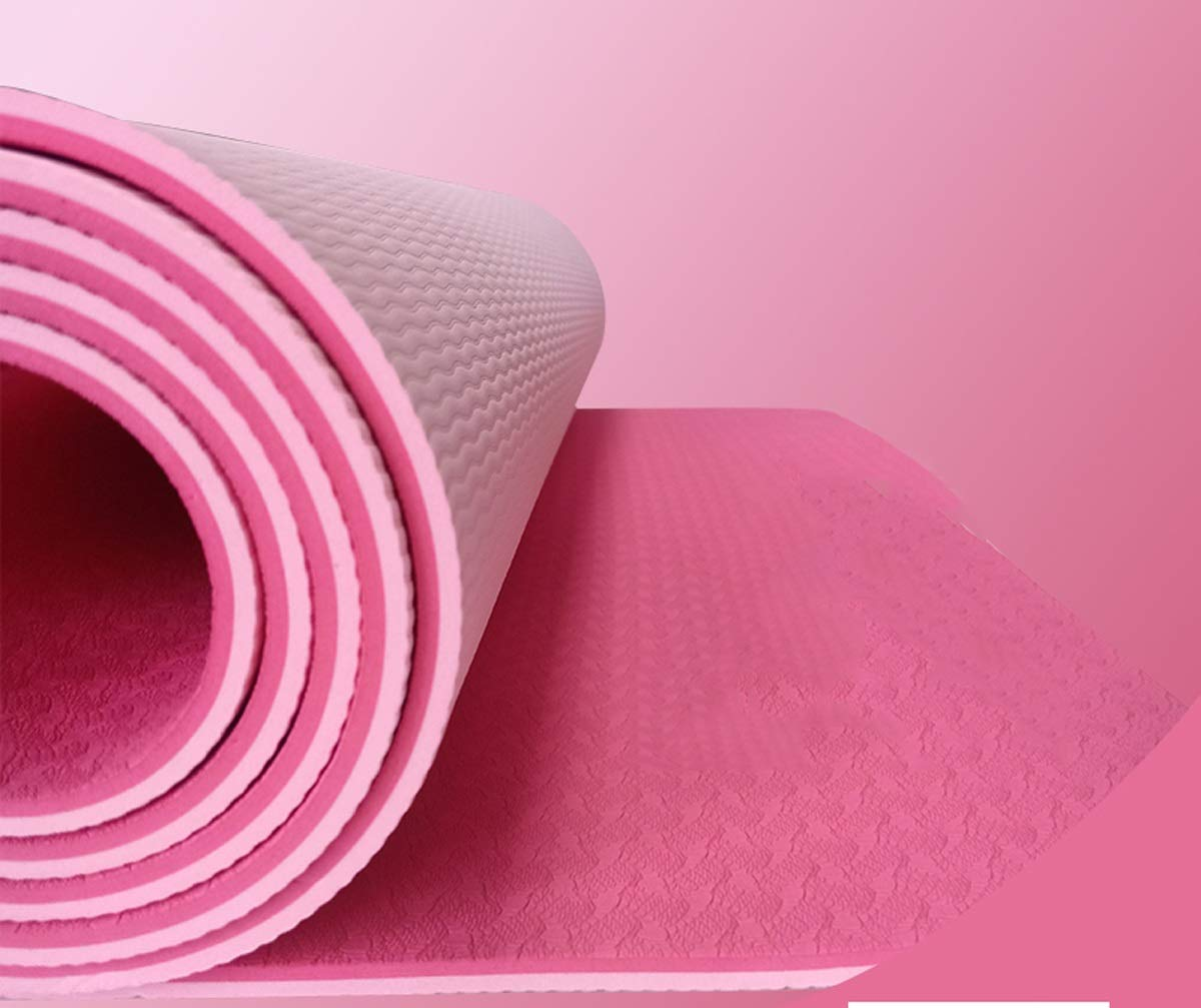 Amazon.com: Female Yoga Mat Female Fitness Mat Widening ...