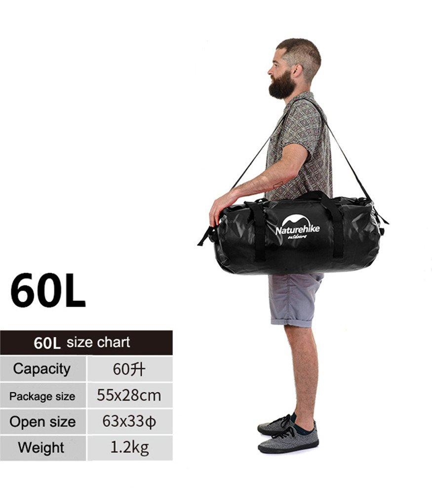 40/60/90/120L Large Capacity Waterproof Bag Outdoor Storage Drifting Dry Bag Daily Use/Swimming Boating Water Skiing ect Igo Online Shop North Americ