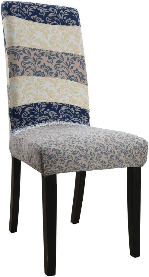 Spandex Stretch Chair Cover Floral Print Seat Cover Slipcover Dining Room Decor