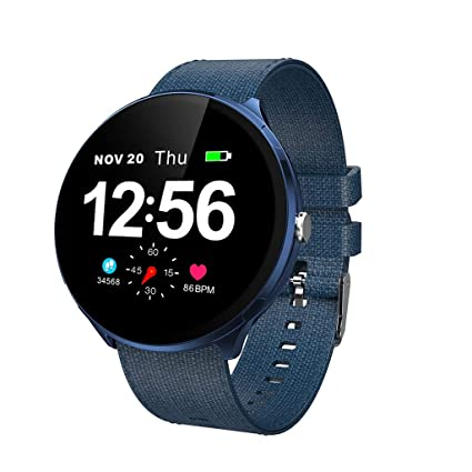 Amazon.com: Smart Watch,Woman Man Heart Rate Blood Pressure ...