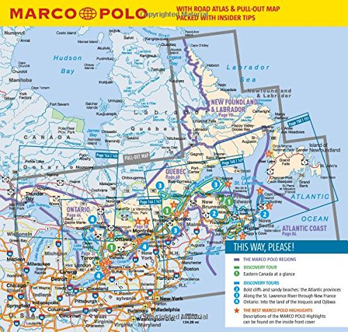 canada east montreal ontario toronto and quebec marco polo pocket guide marco polo travel guides amazoncouk marco polo 8601405264954 books