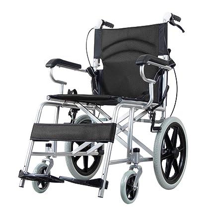 Carritos de la compra Silla de ruedas Silla de ruedas de aleación de ...