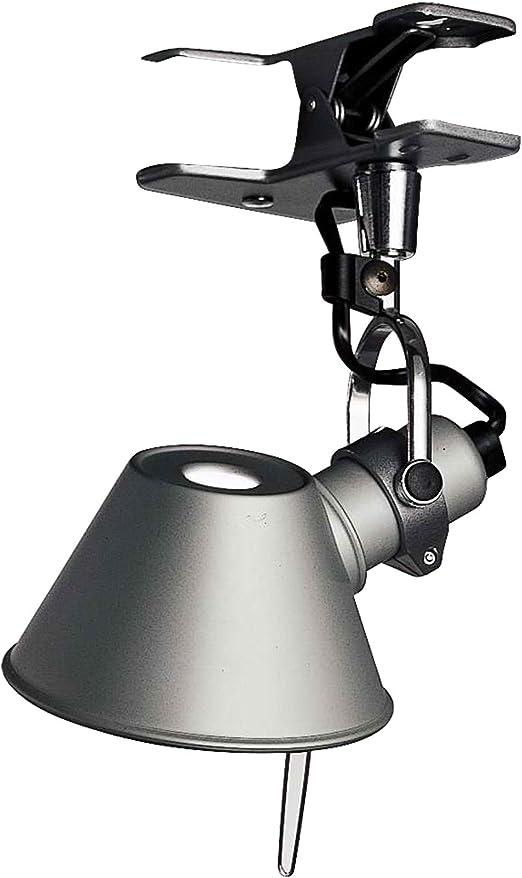 Artemide Tolomeo Micro Pinza E14 Gris lámpara de mesa - Lámparas ...