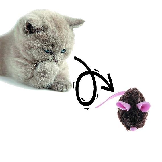 Vealind Gigwi- Juguete automático para ratón con Sonidos realistas: Amazon.es: Productos para mascotas