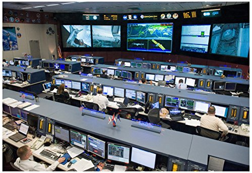 nasa-space-shuttle-flight-control-johnson-space-center-photo-poster-19-x-13in