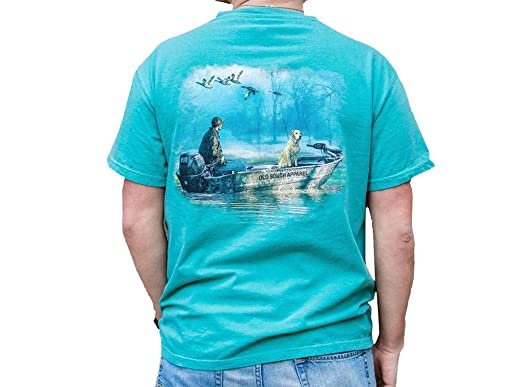 c53694f5431 Old South Cold Morning Comfort Color Short Sleeve T-Shirt-Seafoam-XL