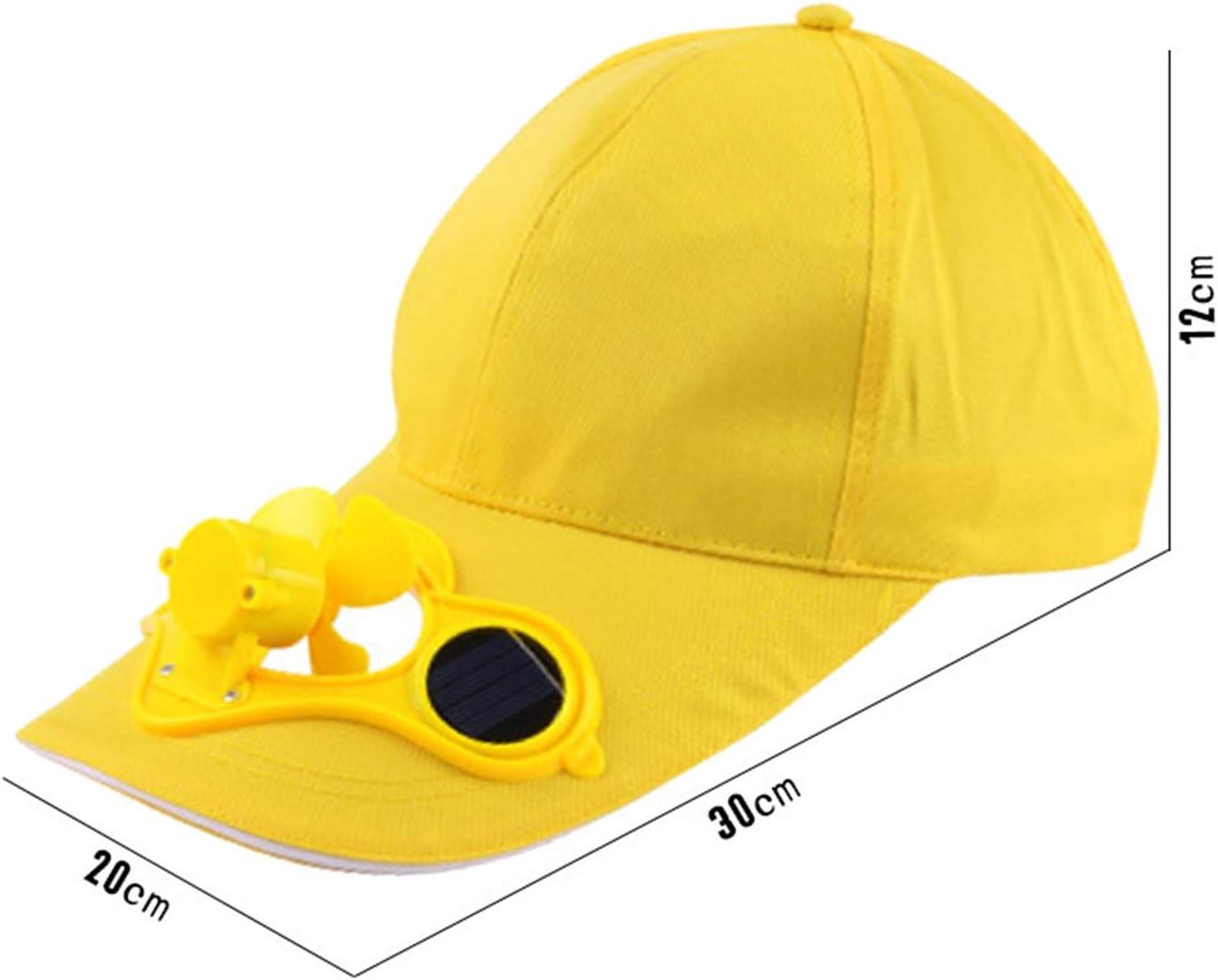 REFURBISHHOUSE Amarillo Gorra Sombrero Al Aire Libre del ...