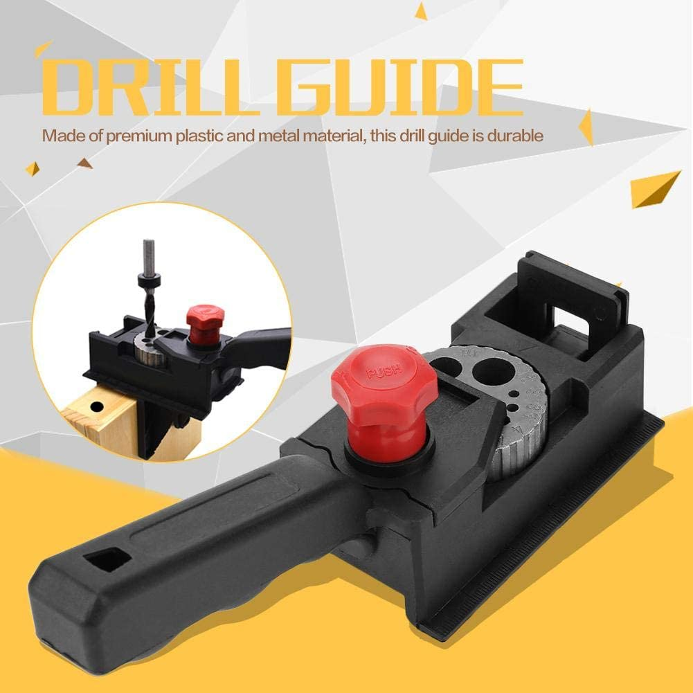 38pcs//Set Woodworking Drilling Guide Wood Dowel Straight Hole Drilling Guide Woodworking Carpentry Positioner Locator Tool Power Tools Jigs