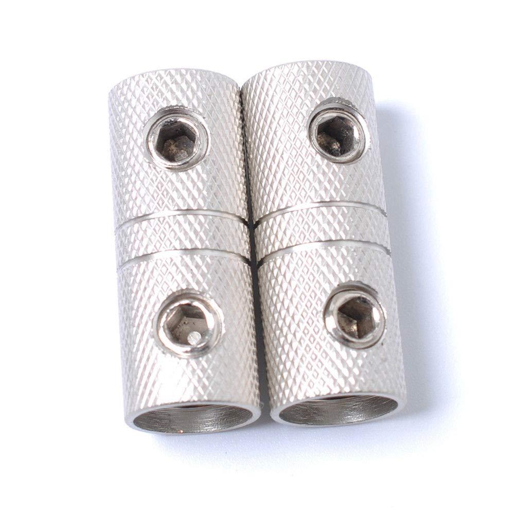 FidgetFidget 2/× Wire Coupler Terminal Butt Connector 4 GA AWG Gauge Joiner Barrel Set Screw