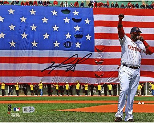 David Ortiz Boston Red Sox Autographed 8