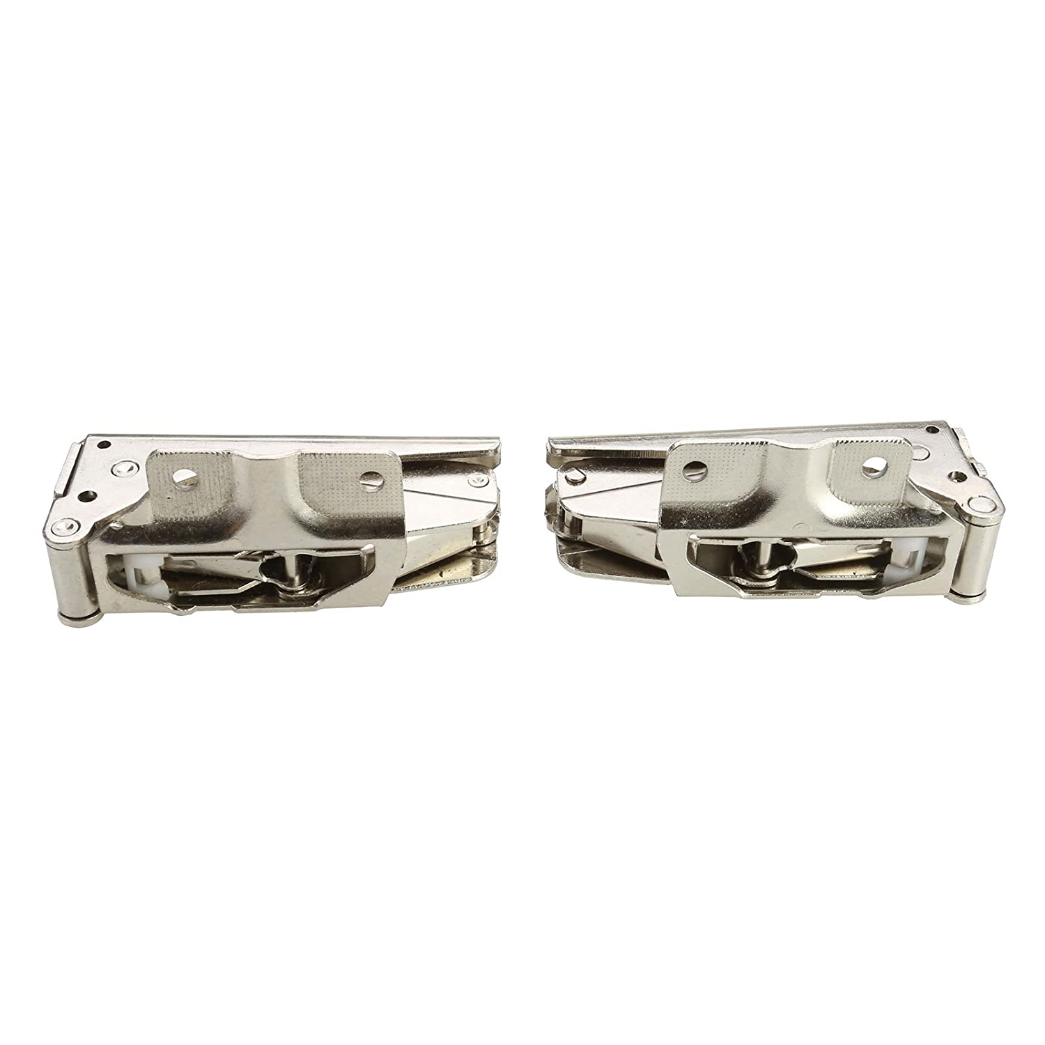 First4Spares Universal Door Hinges for Integrated Fridge Freezers (Complete pair)