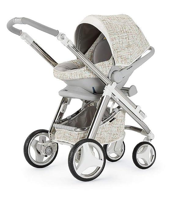 Bebecar IP-Op Evolution Combi - Juego de 2 carritos de bebé (cristal): Amazon.es: Bebé
