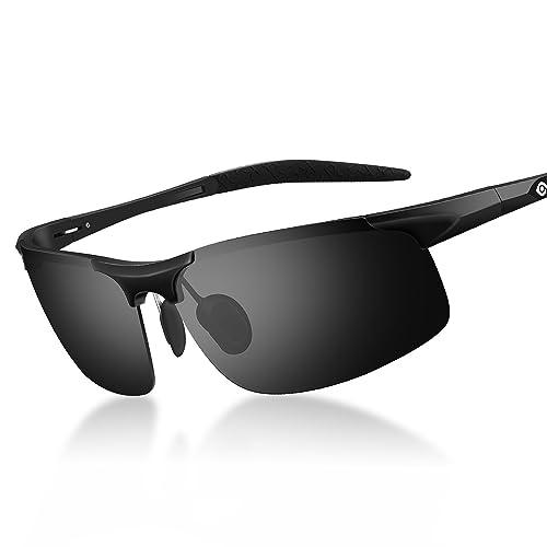 64713be1bb Amazon.com  Mens Polarized Sports Sunglasses Women UV Protection Cycling  Running Sunglasses  Shoes