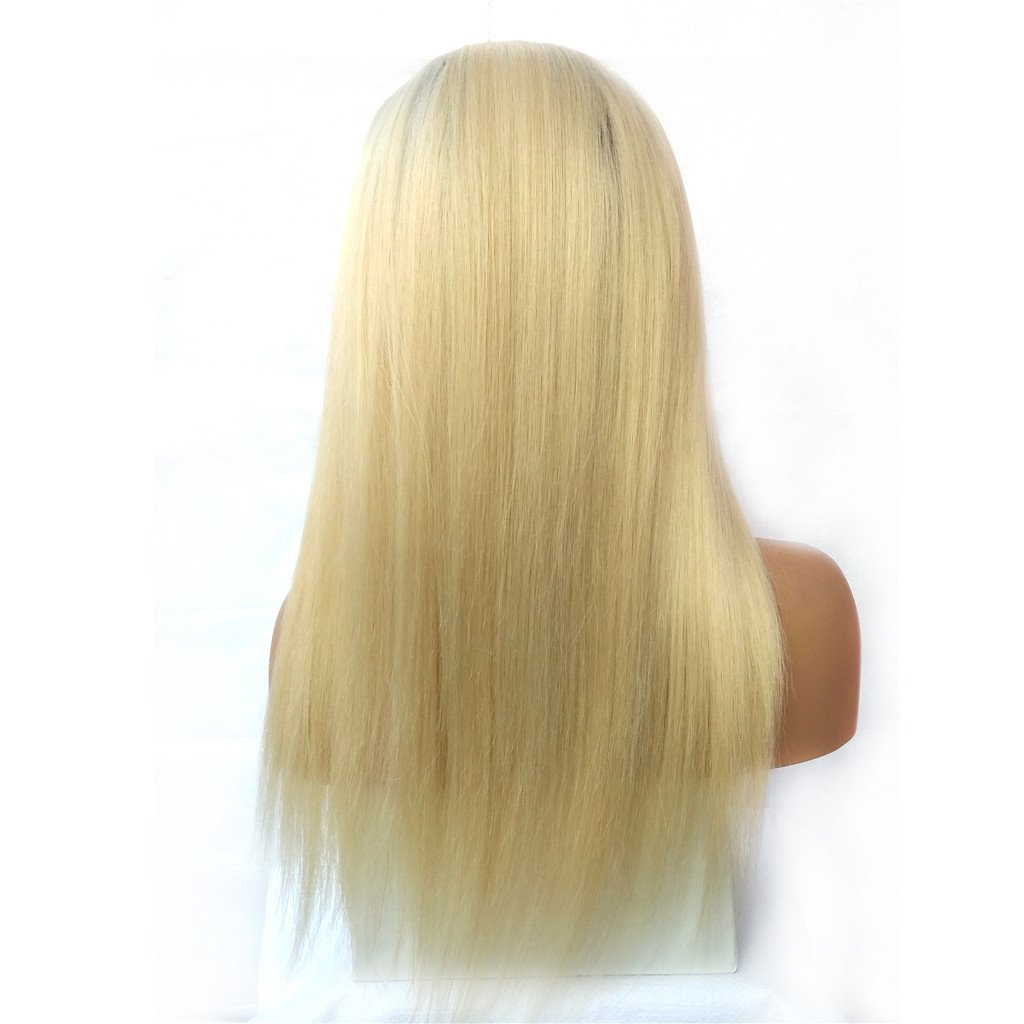 Nobel Hair 4 613 Blonde Peruvian Virgin Human Hair Lace Front Wigs