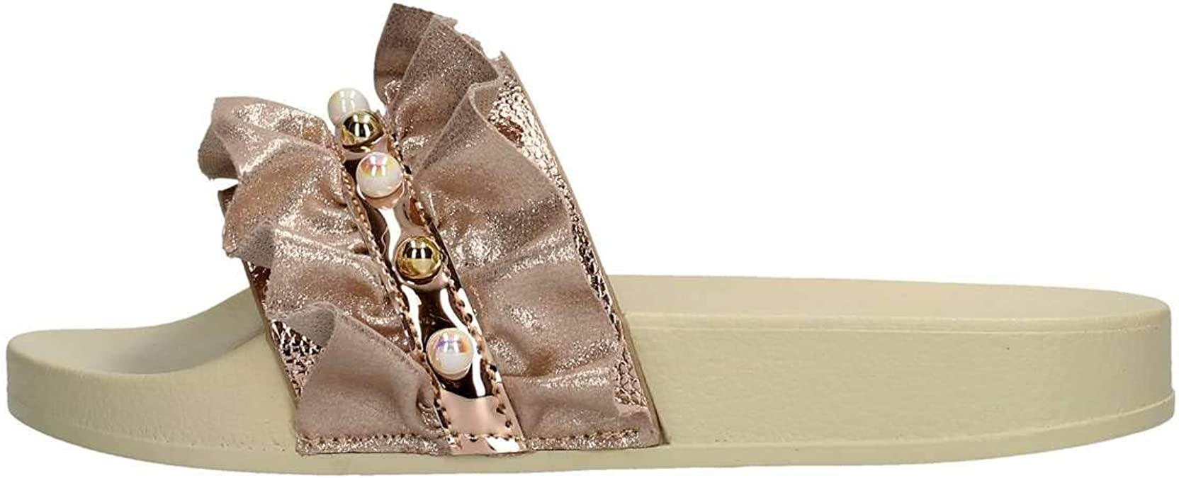 Lelli Kelly Rubber Slippers with Pearls Katia LK9900R Pink