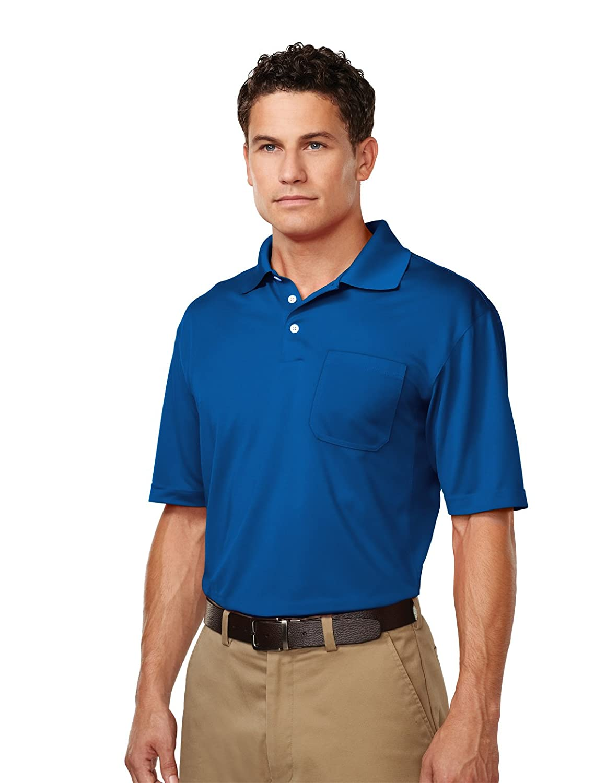 Tri Mountain Ultracool Moisture Wicking Polo Shirt Wpocket K158p