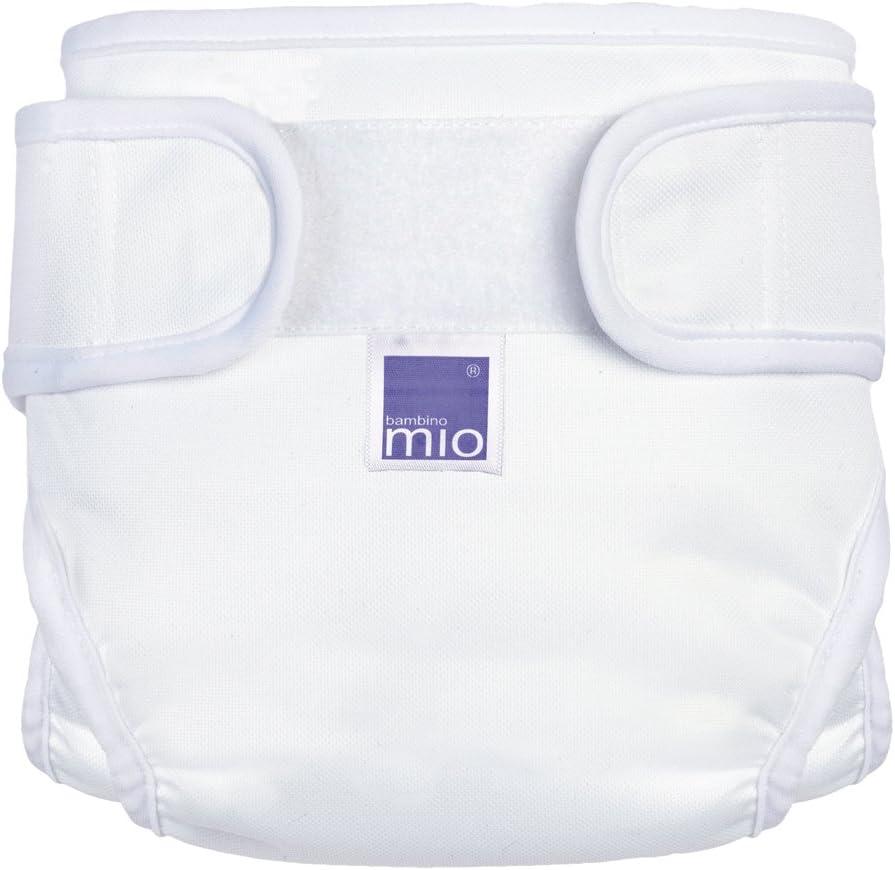 Bambino Mio Miosoft Nappy Cover White Small 5-7kgs
