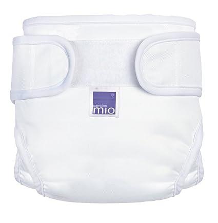 Bambino Mio Miosoft - Cubrepañales (recién nacido, color blanco)