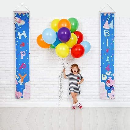 Amazon.com: QSUM - Cartel de feliz cumpleaños para ...