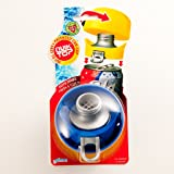 Compac Quik Top Soda Can Cap Easy to Use, Keeps Drinks Fresh & Fizzy, Leak-Proof & Airtight, Cap Doubles as a Cup or Coaster & Even as a Can Opener Blue
