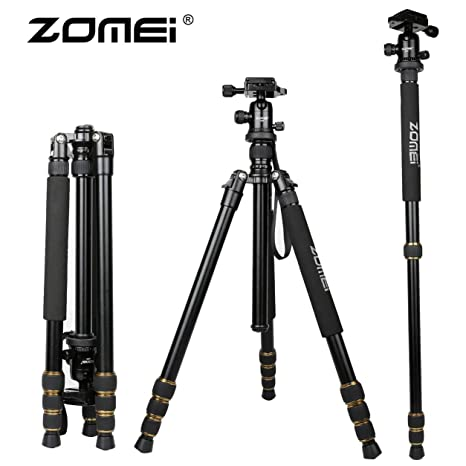 ZOMEI Q666 - Trípode de Aluminio para cámara réflex Digital SLR ...