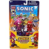 Sonic the Hedgehog 3.5 Inch Action Figure with Comic Book 2Pack Espio Knuckles