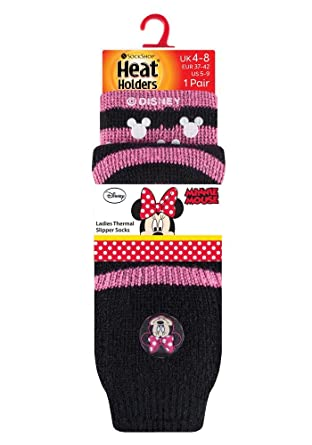HEAT HOLDERS - Calcetines de estar por casa - Básico - para mujer Multicolor Minnie Mouse