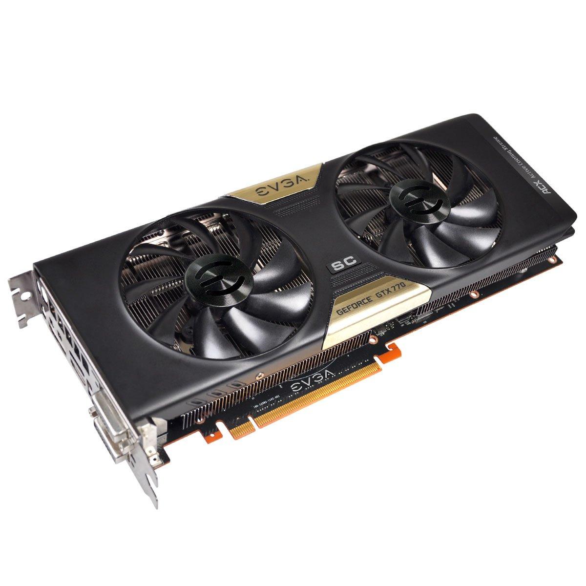 Evga Geforce GTX 770 - Tarjeta gráfica (4 GB, Dual ...