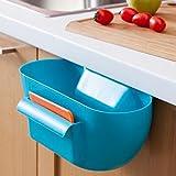 Ducomi® Spazzafacile–Recipiente para recoger la basura con rascador (Blanco)