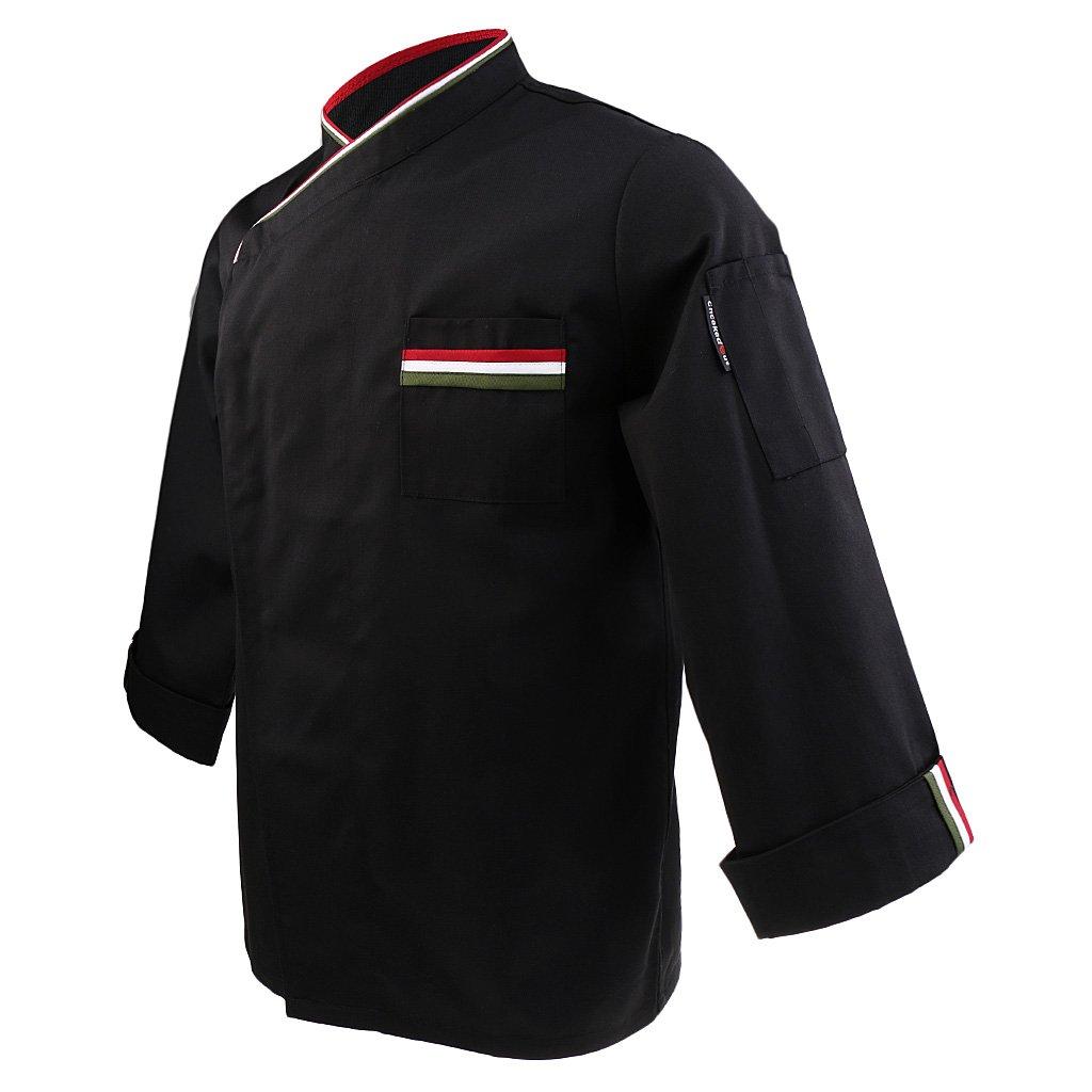 MagiDeal Donna Uomo Cuoco Giacca Cappotto Top Ristorazione Giacche da Chef  Uniforme Abbigliamento da Lavoro  Amazon.it  Abbigliamento 20238a5b1364