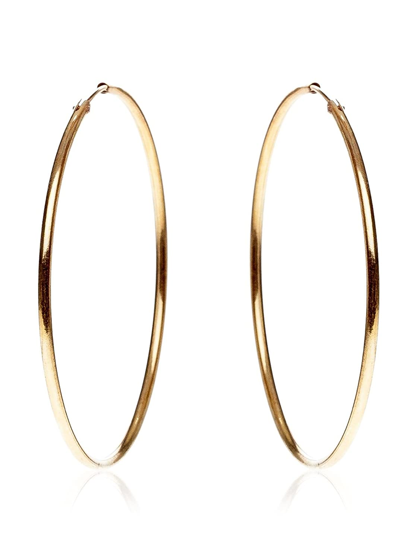 Córdoba Jewels  Pendientes plata de Ley bañado oro Diámetro mm Diseño