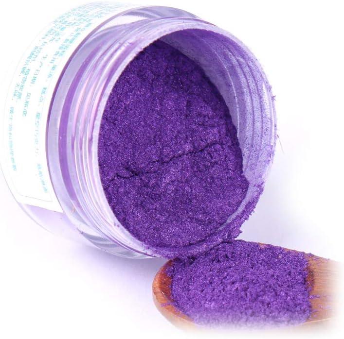 PENG 5g Flash Glitter Powder Pigmentos comestibles horneados Decoraci/ón de Pastel de Comida Pastel de Galletas