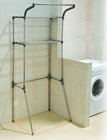 Waschmaschine Regale ZCJB Badezimmer-Waschmaschine Racks ...